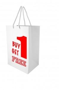 buy one get one free food waste
