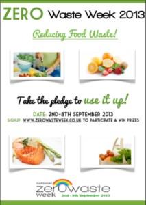 zero waste week 2013 poster