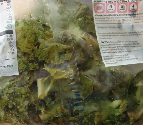 food waste friday kale 1
