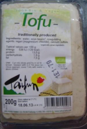 food waste friday tofu