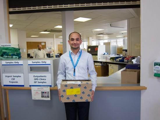 reusing envelopes northampton general hospital zero waste week hero