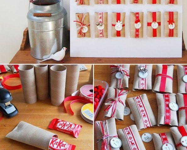 Advent Calendar Ideas Uk : Fun and easy diy advent calendar ideas zero waste