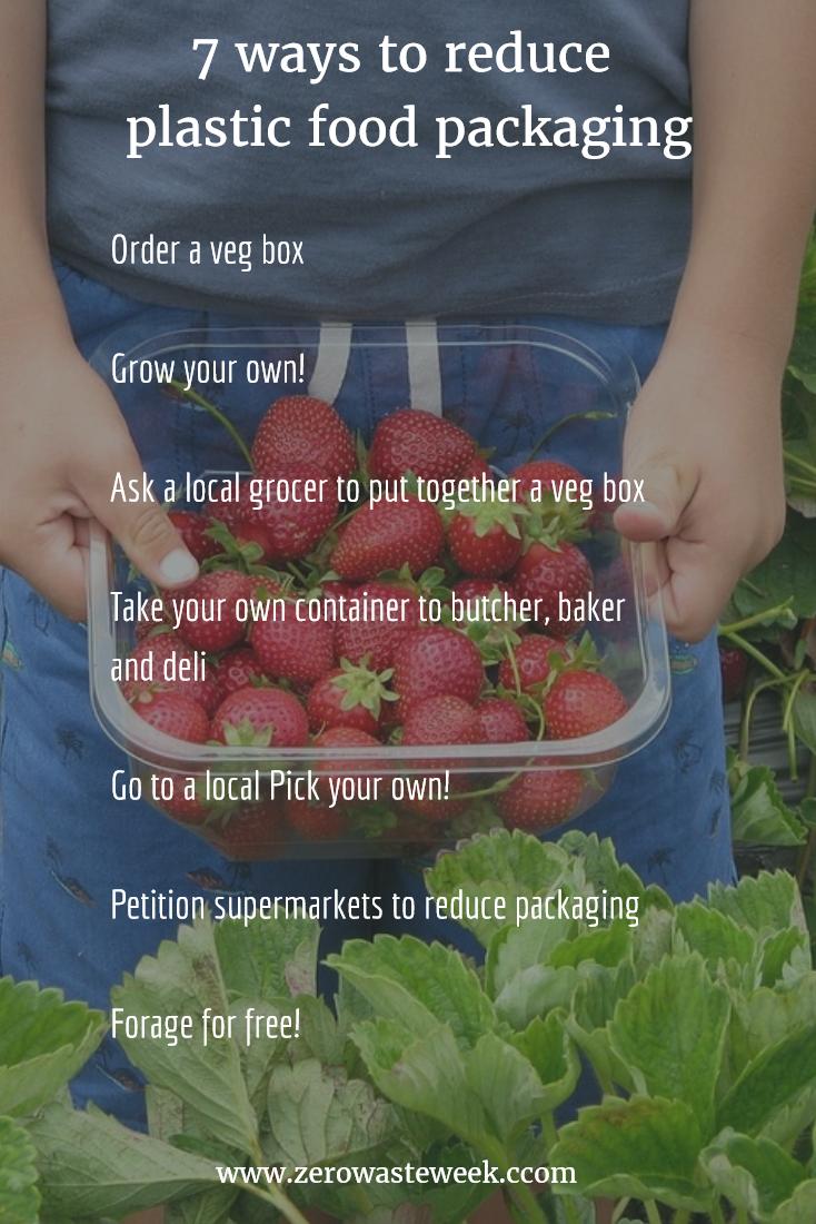 7 ways to reduce plastic packaging on food - Zero Waste Week