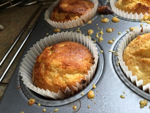 Cornbread muffins for zero waste week from Lisa Boulden PR