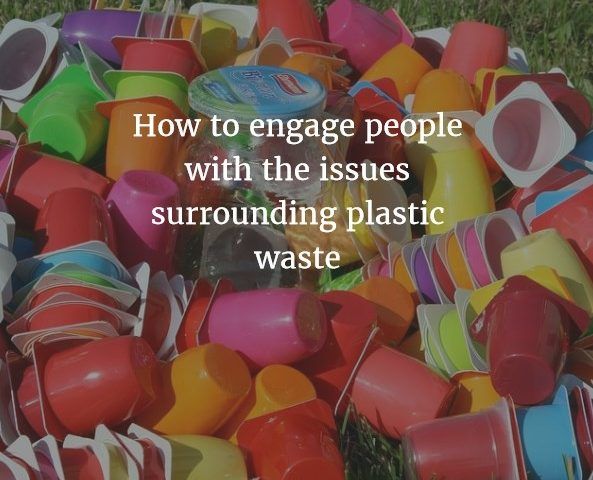 how to engage people with the issues surrounding plastic waste zero waste week