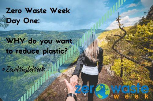 zero waste wewek 2018 day 1 challenge - your big why