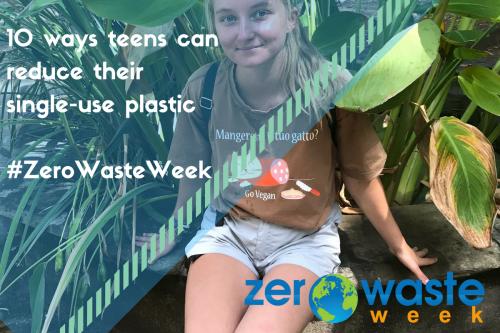 Alyssa Carrington writer for Zero Waste Week campaign