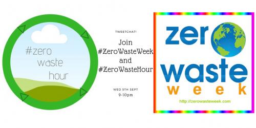 zero waste hour and zero waste week tweetchat