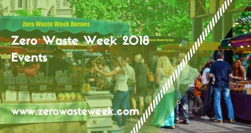 zero waste week events 2018