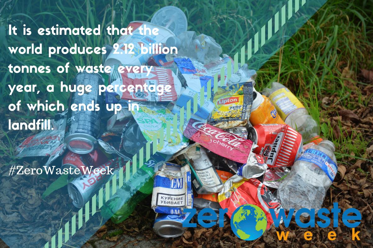 2 billion tonnes of waste