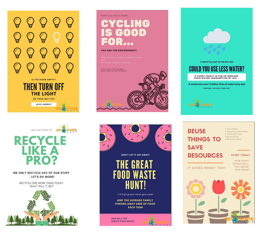 schools sustainability posters