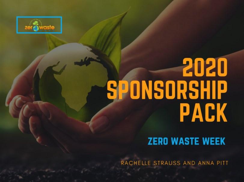 zero waste week 2020 sponsors pack