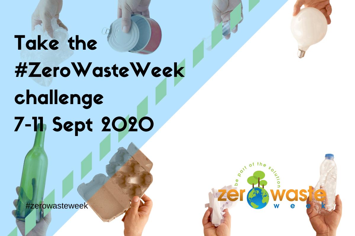 zero waste week 2020 challenge