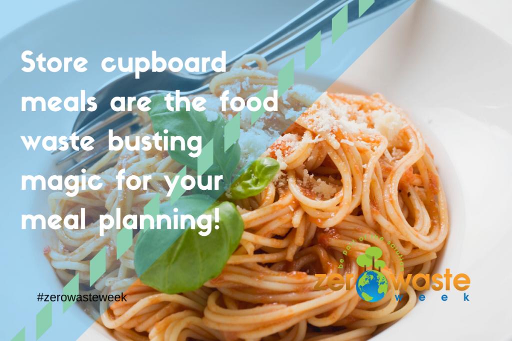 Store cupboardmeals help reduce food waste