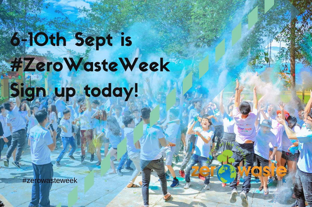 when is zero waste week 2021