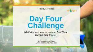 zero waste week day four challenge