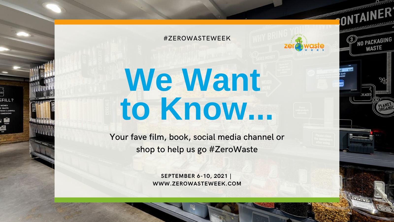 zero waste week day four question