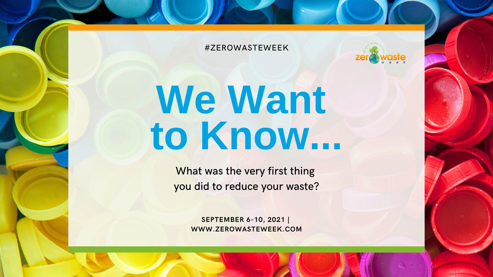 zero waste week day one question