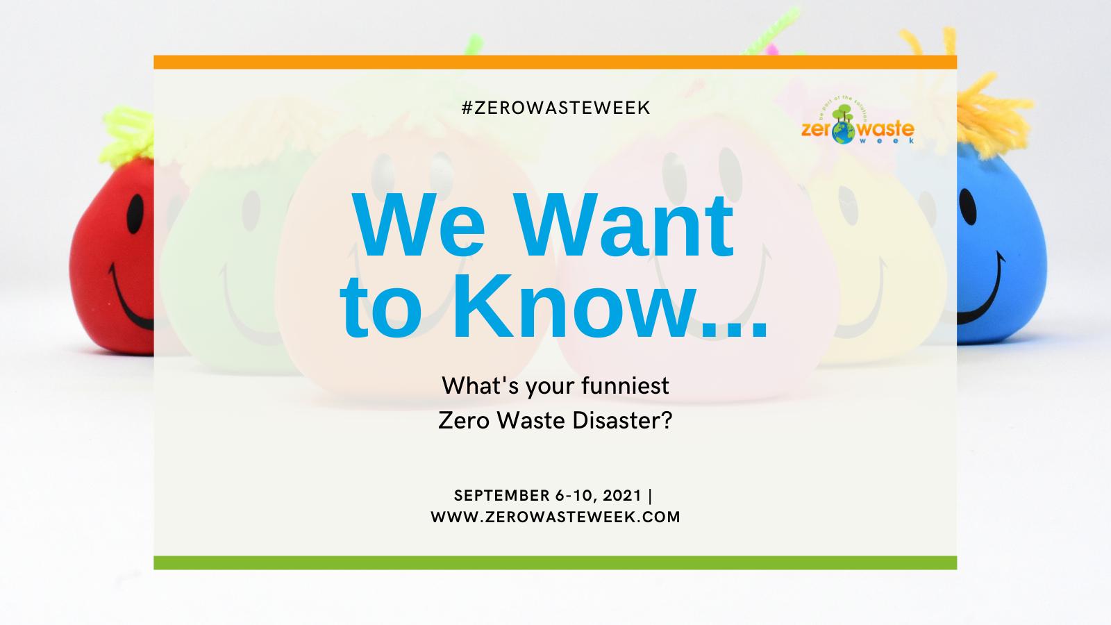 zero waste week day three question